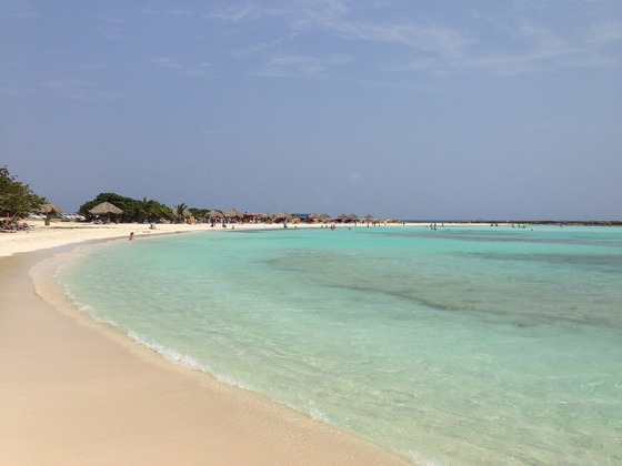Baby Beach Bay in Aruba