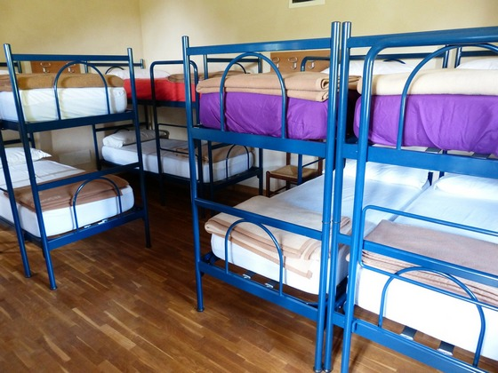 Hostel accommodation for budget-minded visitors