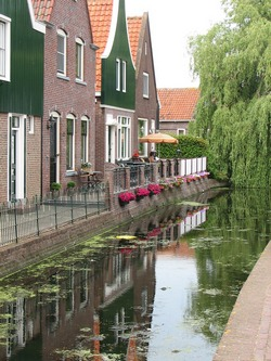 Water canal in Holland