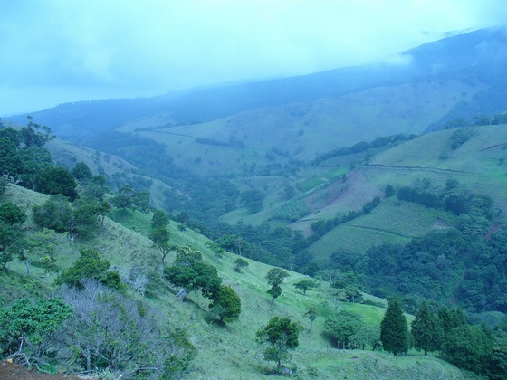 Beautiful countryside in Costa Rica