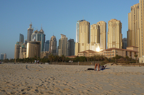 JBR beach in Dubai