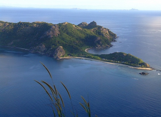 Kuata Island, from Yasawa group of islands in Fiji