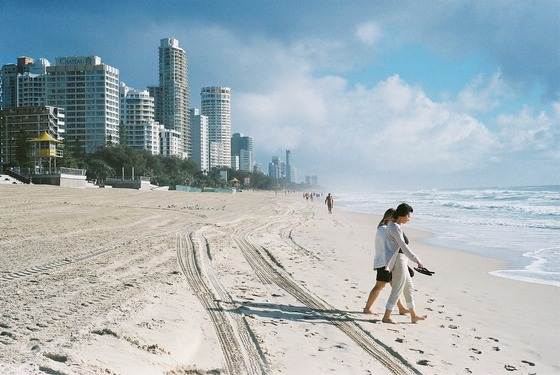 Beach on Queensland's Gold Coast