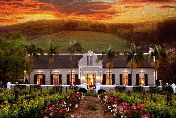 Grand Roche Hotel at Paarl Mountain