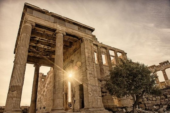 Architectual monuments in Greece