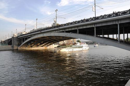 A bridge on Moscow River