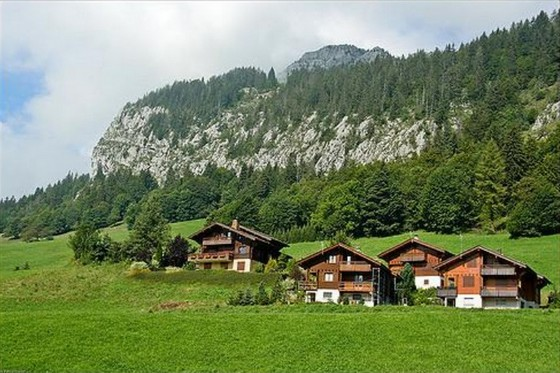 European mountain destination