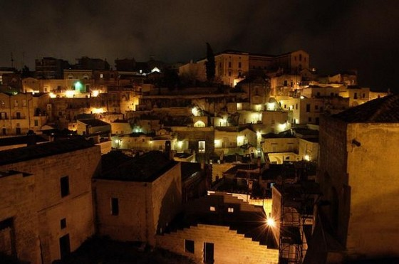 Old town of Matera, Italy