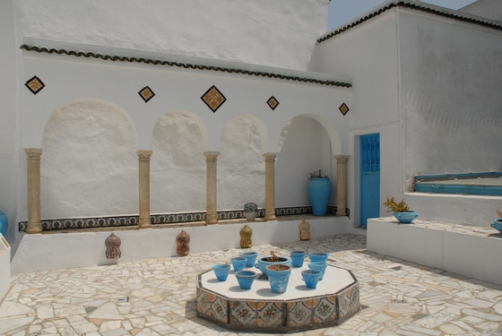 Sidi Bou Said village in Tunisia