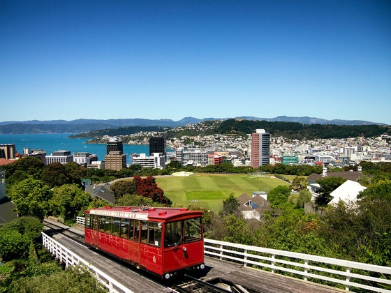 Town of Wellington, New Zealand