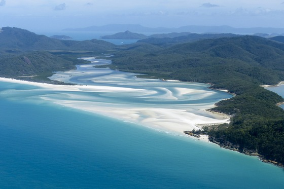The splendour of Whitsunday Islands