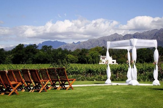 Wine region in South Africa